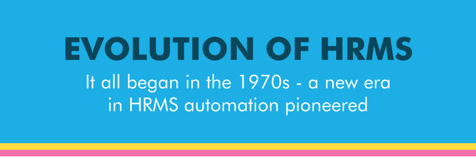 Evolution of HRMS - Overview
